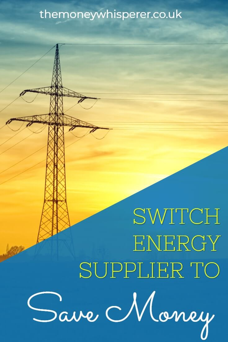 Switch energy tariffs regularly to ensure you are on the cheapest rate. See how here! #savemoney #moneysavvy