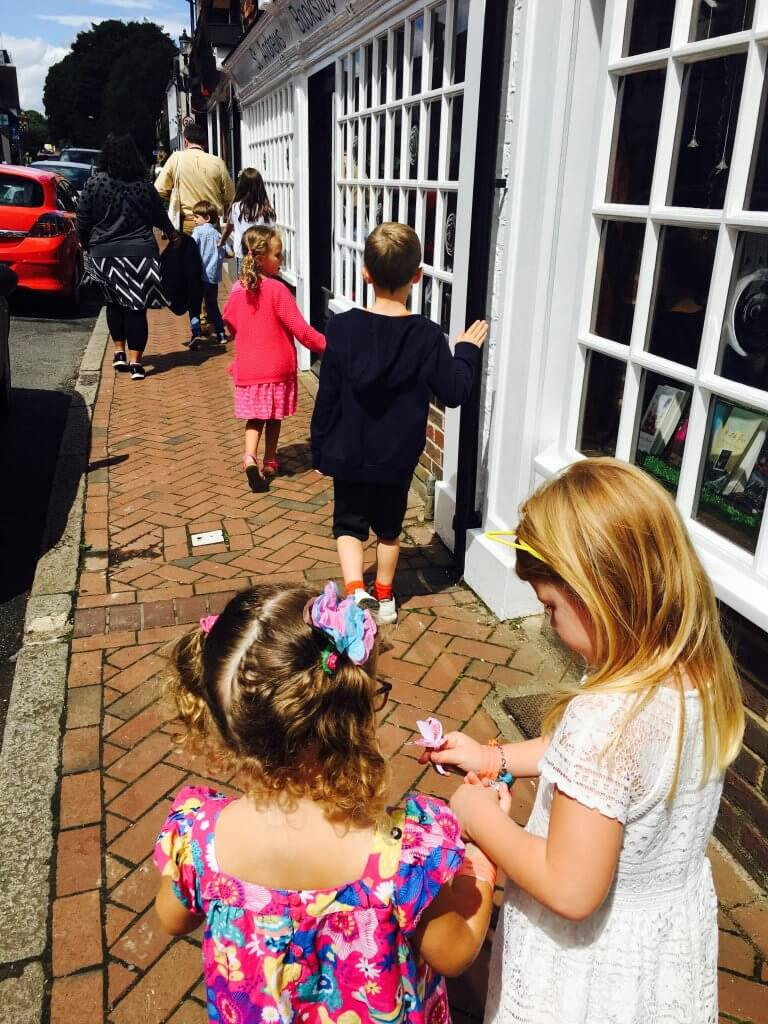 Roald Dahl Museum tour of village