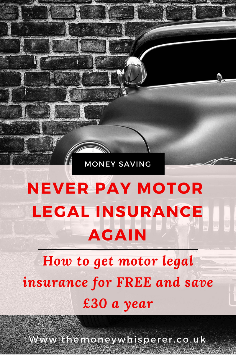 Do you need to pay for motor legal insurance as an add to your premium? The answer is no. Never pay motor legal insurance again by signing up with Free Motor Legal and save yourself £30 per year, per vehicle.