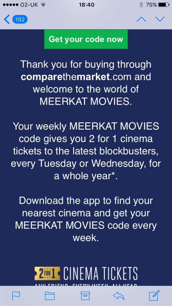 Five Frugal things - meerkat movies
