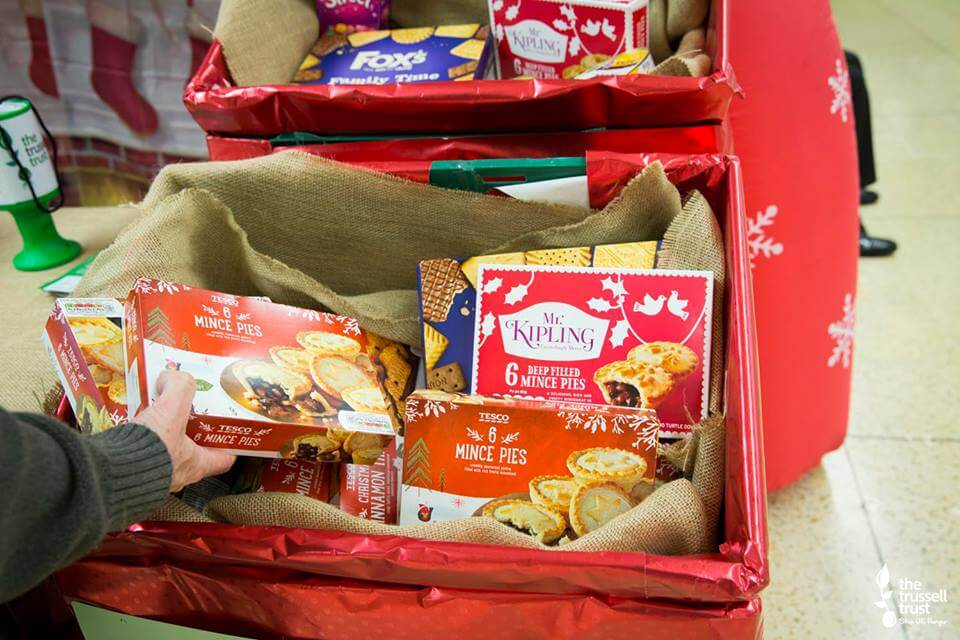christmas treats for food bank #FoodBankAdvent