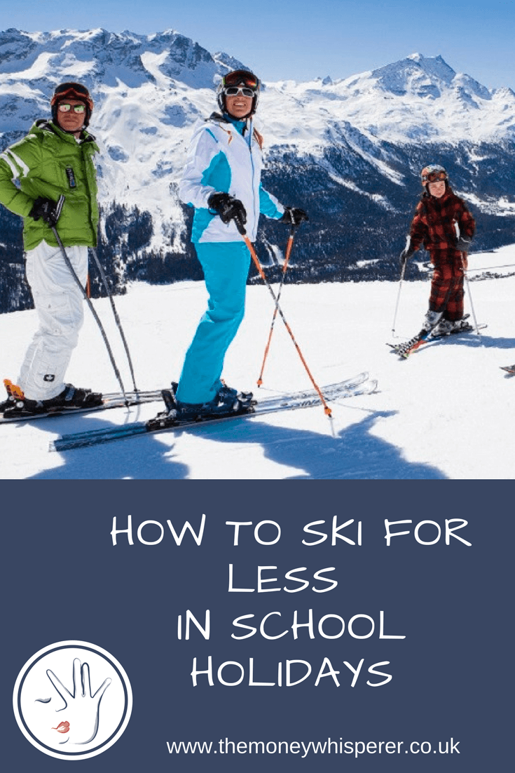cheap skiing in school holidays