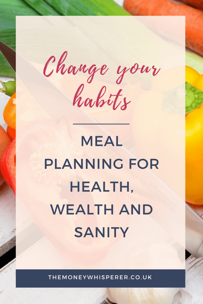 Meal planning, changing habits, benefits of meal planning