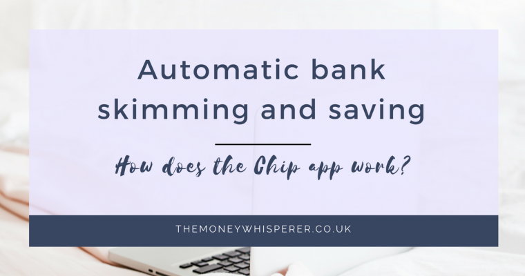 Automatic bank skimming and saving with Chip