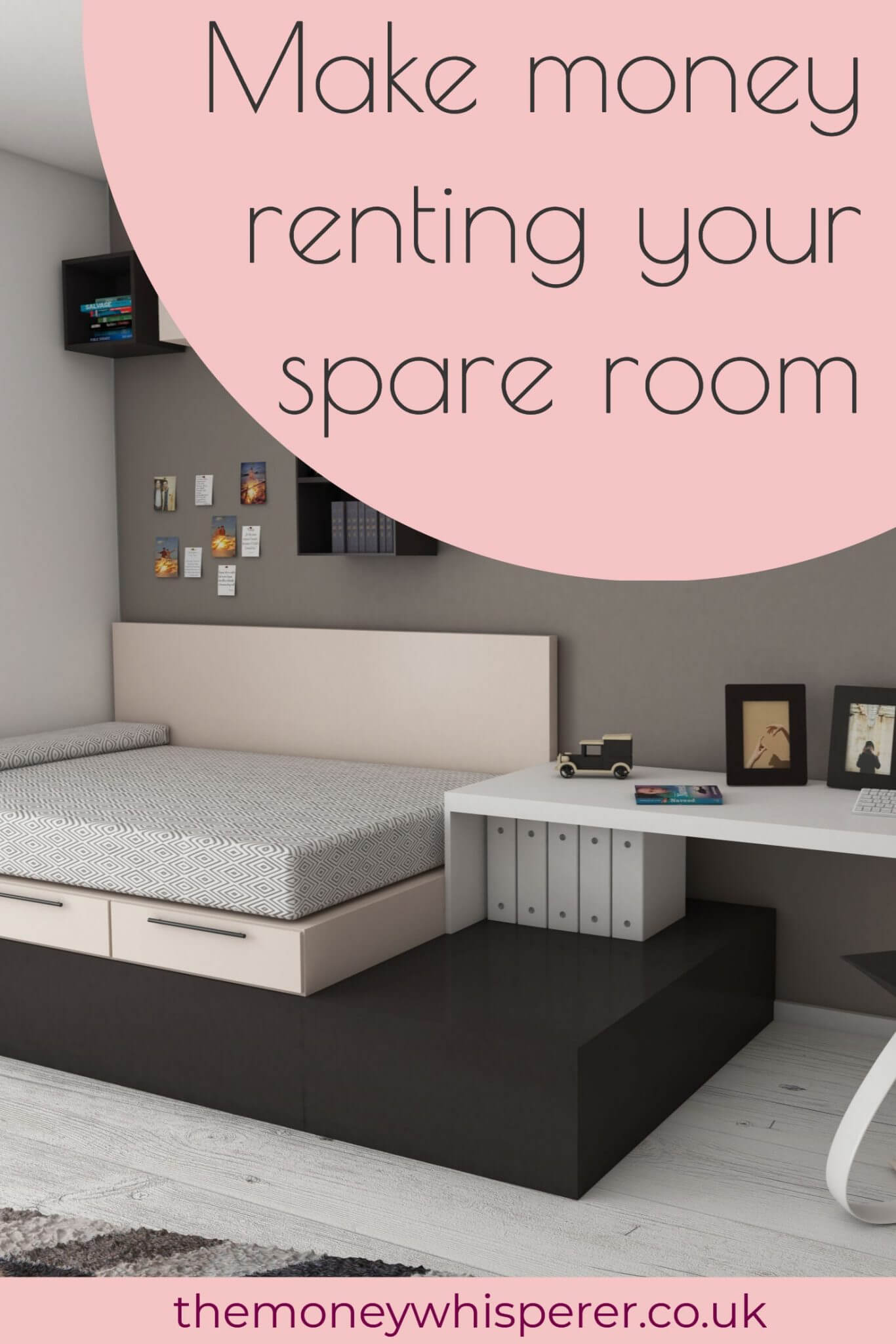 Make money renting out your spare room with the Rent a Room Scheme - find everything you need to know about the scheme here. #makemoney #sidehustle