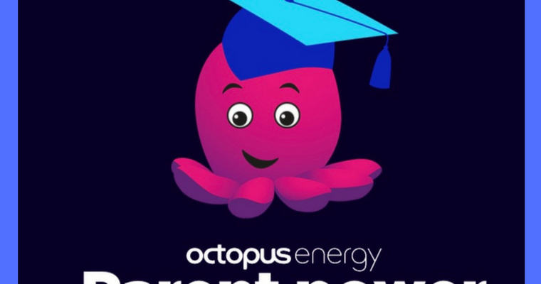 Octopus Energy Parent Power flyer