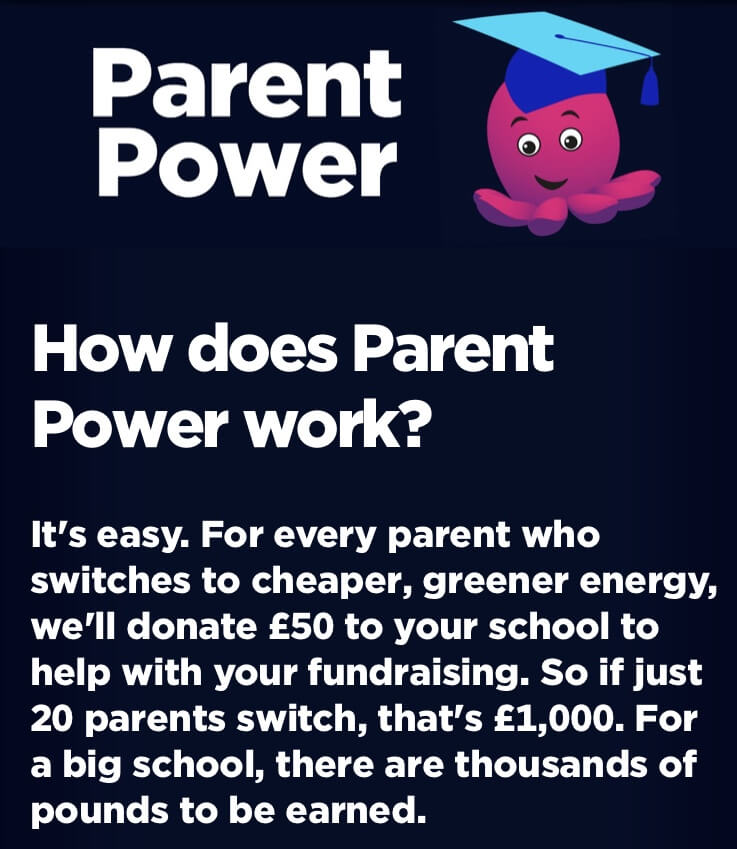 Parent Power - switch to fundraise for your school