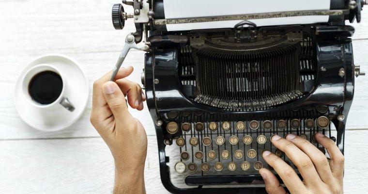 Typewriter - freelance writing
