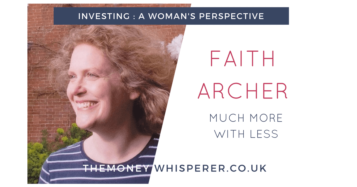 Faith Archer - lets get women interested in investing
