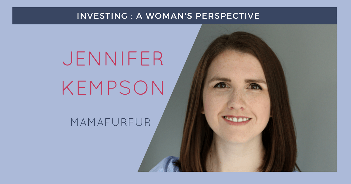 Woman investor profile for Jennifer Kempson