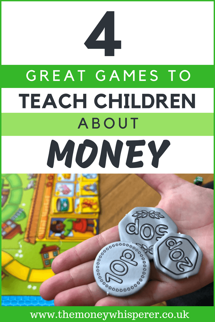 4 great games to teach children about money