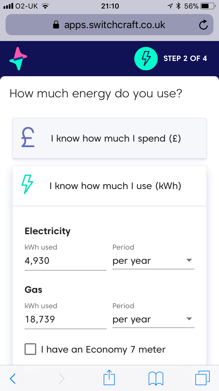 Save money by switching energy supplier AUTOMATICALLY each year using Switchcraft
