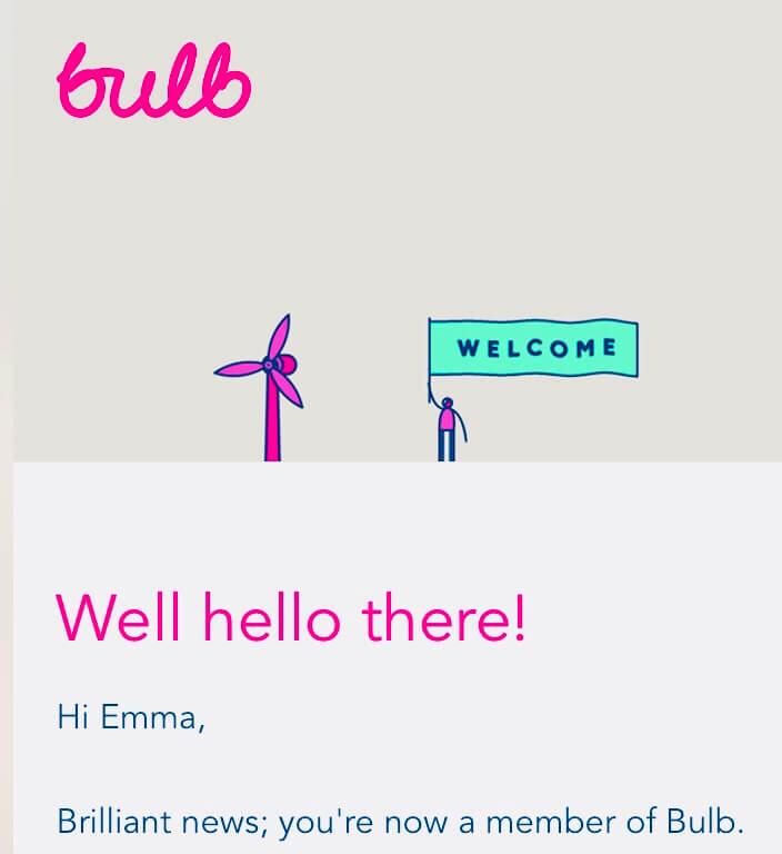 Bulb welcome