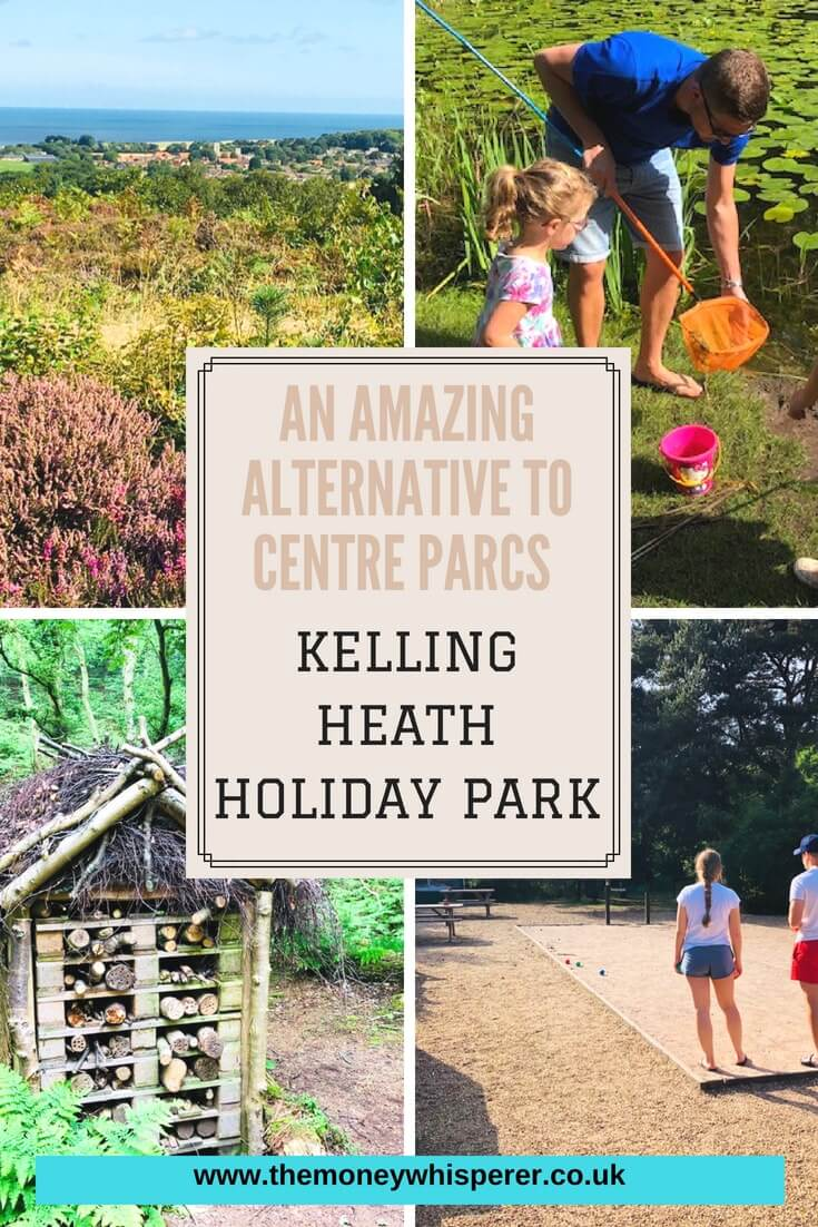 If you are looking for a great alternative to Centre Parcs but without the price tag, Kelling Heath Holiday Park is an amazing option. Set in 300 acres of heathland and parkland, the park offers natural beauty and plenty of outdoor fun. #outdoorholiday #centreparcsalternative #kellingheath #camping #lodgeholidays #northnorfolk