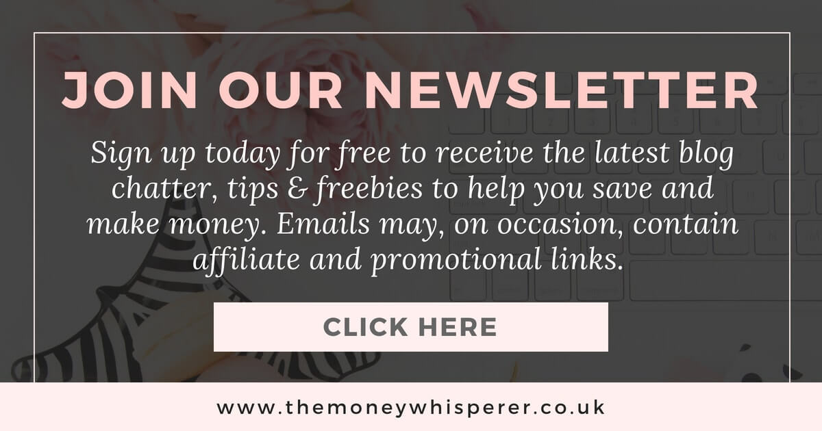 The Money Whisperer newsletter sign up