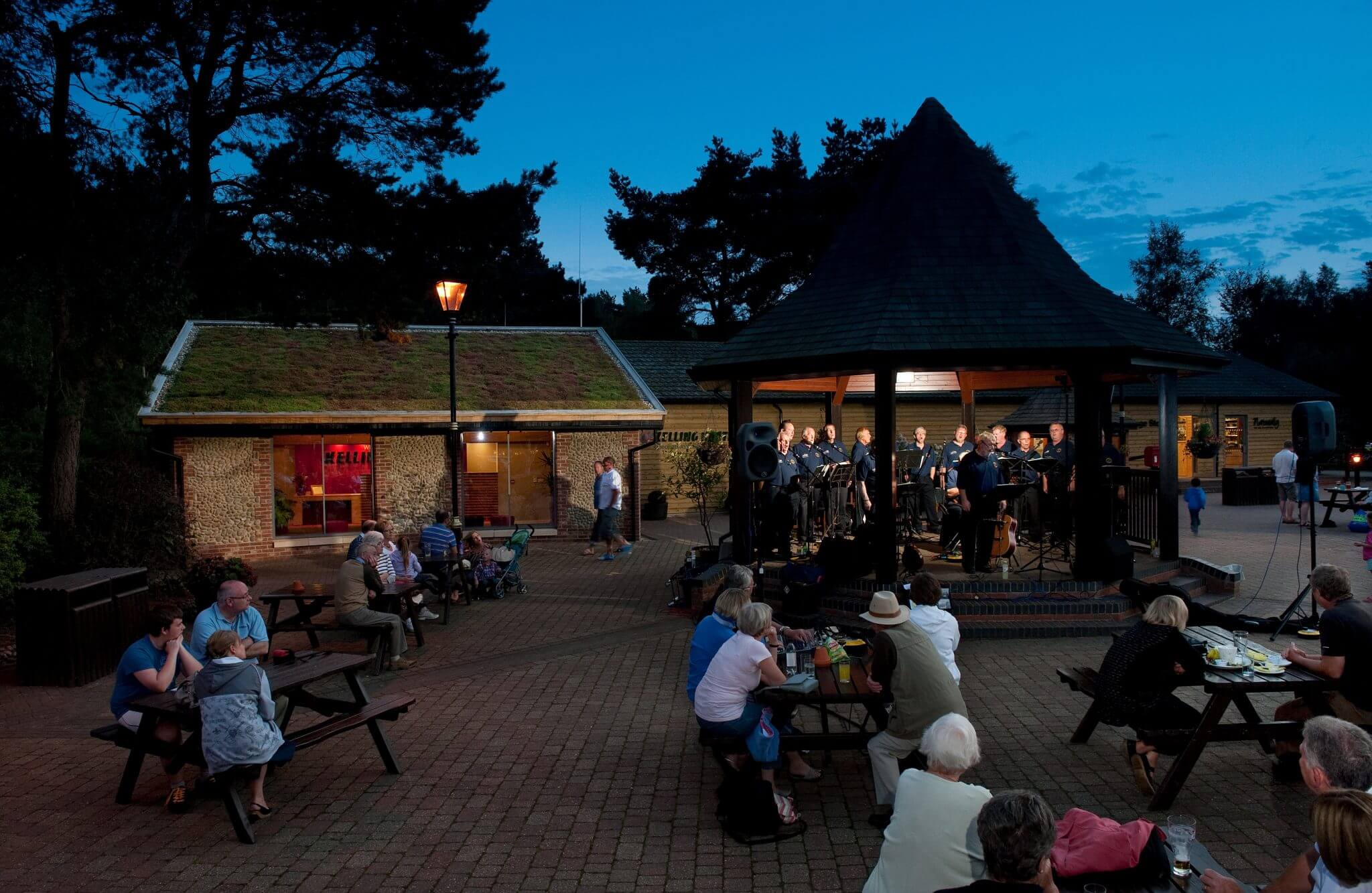 Entertainment at Kelling Heath is a great alternative to Center Parcs - albeit a lot lower key