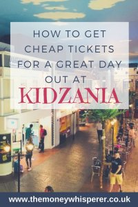 Cheap Kidzania Tickets - how to get cheap tickets for a great day out at Kidzania #daysout #review #cheaptickets #holidayfun