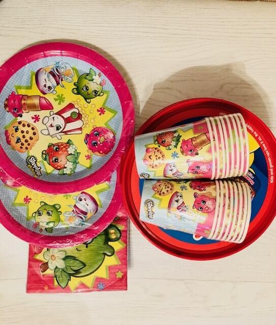 Shopkins birthday supplies