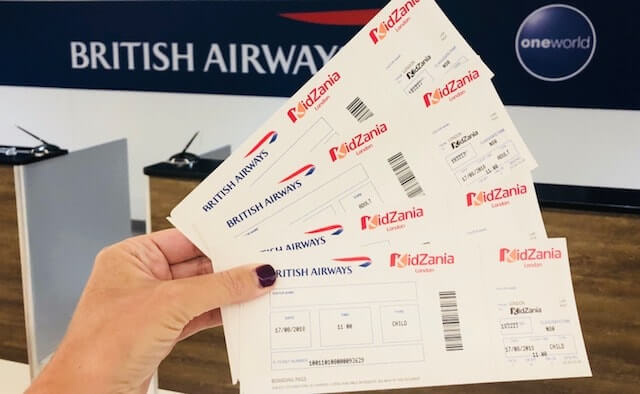 Kidzania tickets - cheap Kidzania tickets are from Picniq where kids go for half price