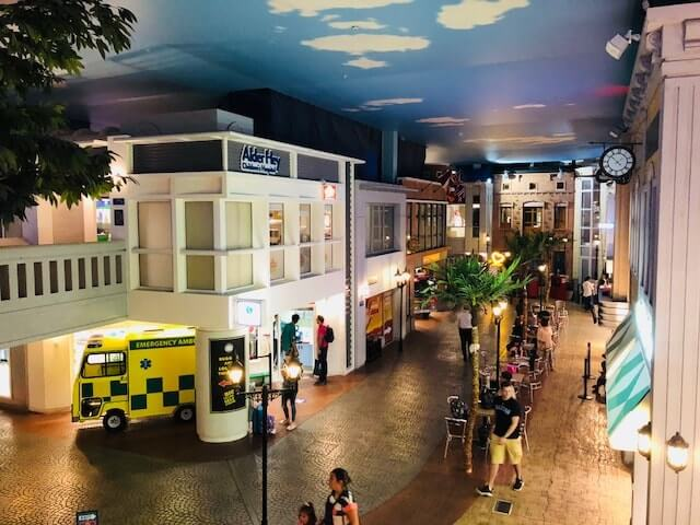 Main street at Kidzania