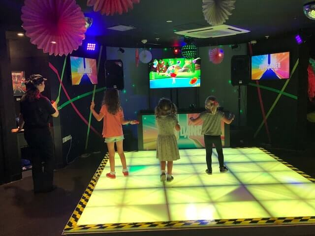 Dancing fun at Kidzania