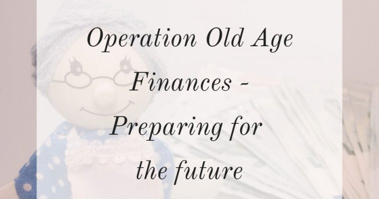 Sorting out a pension - operation old age finances