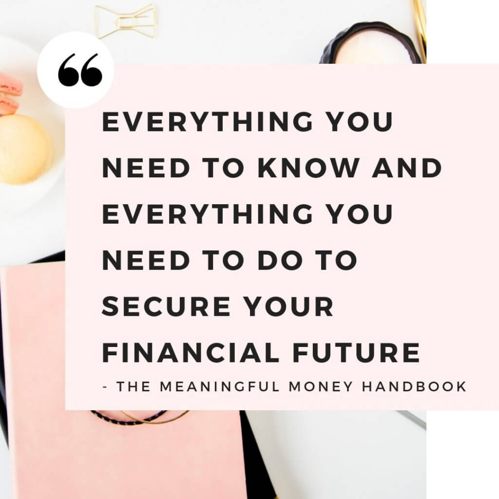 Byline to The Meaningful Money Handbook