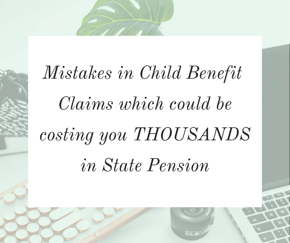 Child benefit claims and their link to state pensions - the mistakes you could be making that might be costing you thousands in state pension #pension #childbenefit #personalfinance