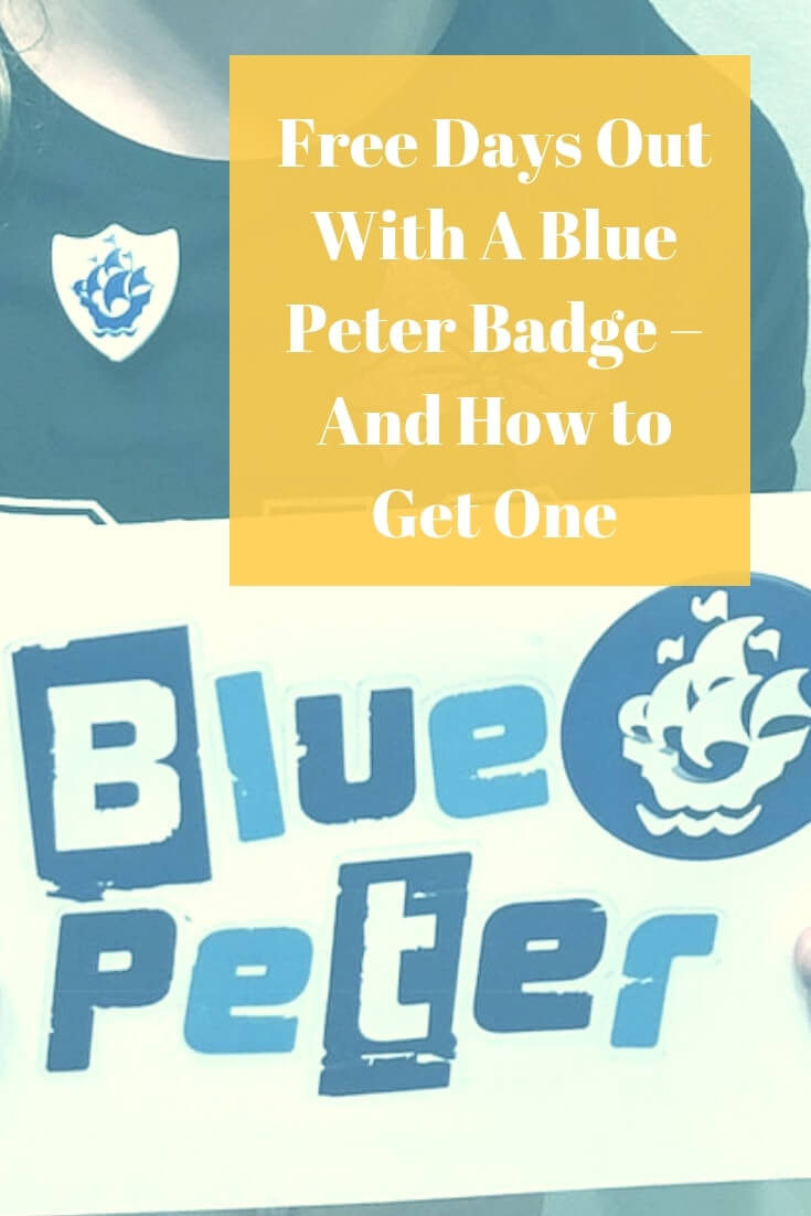 Free Days Out with a Blue Peter Badge - and How to get One #daysout #freebie #bluepeter