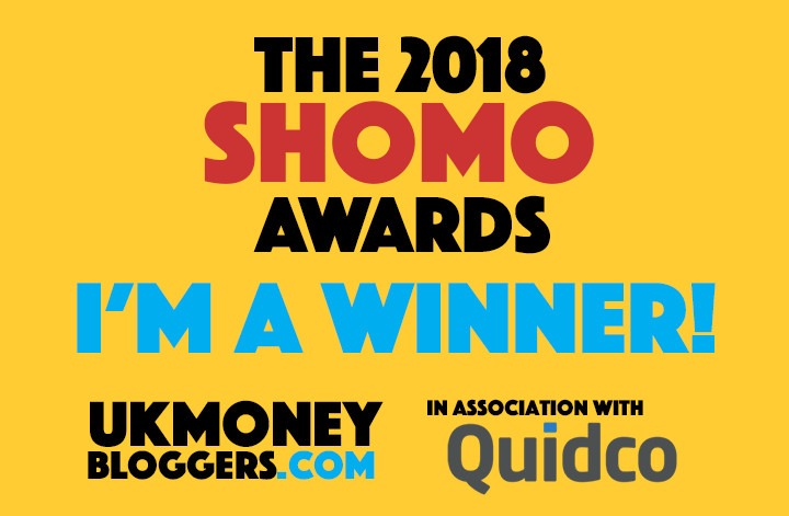 SHOMOS I am a winner badge
