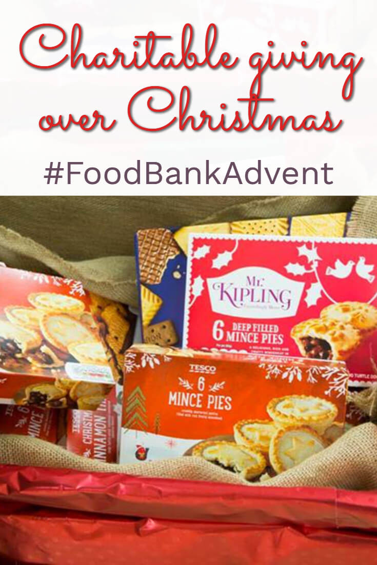 Join the UK Money Bloggers with our #FoodBankAdvent campaign this November - together we can make a difference to #foodpoverty