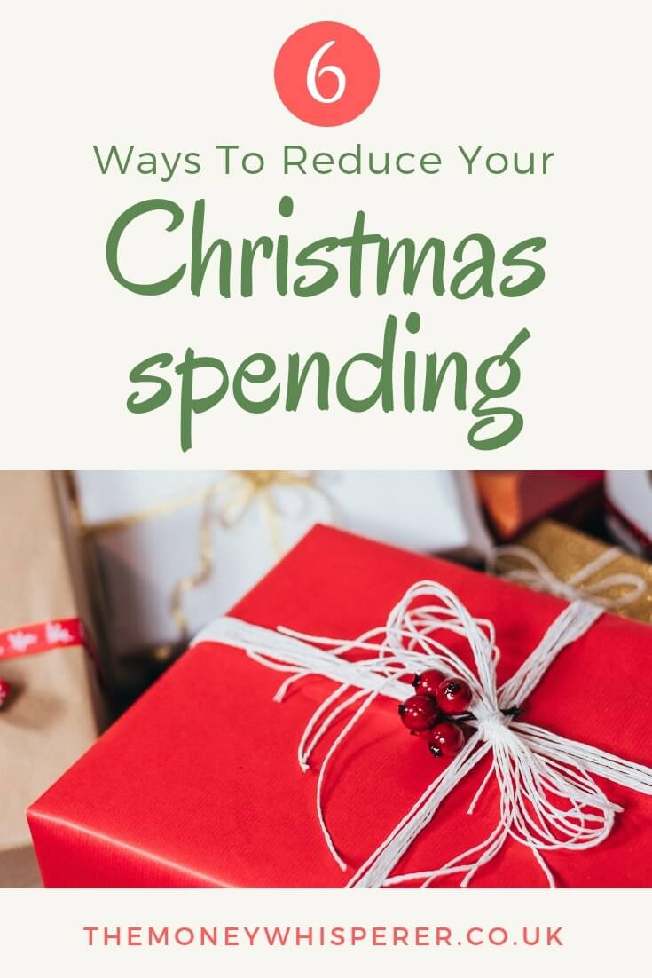 6 ways to reduce your Christmas spending #christmas #savemoney