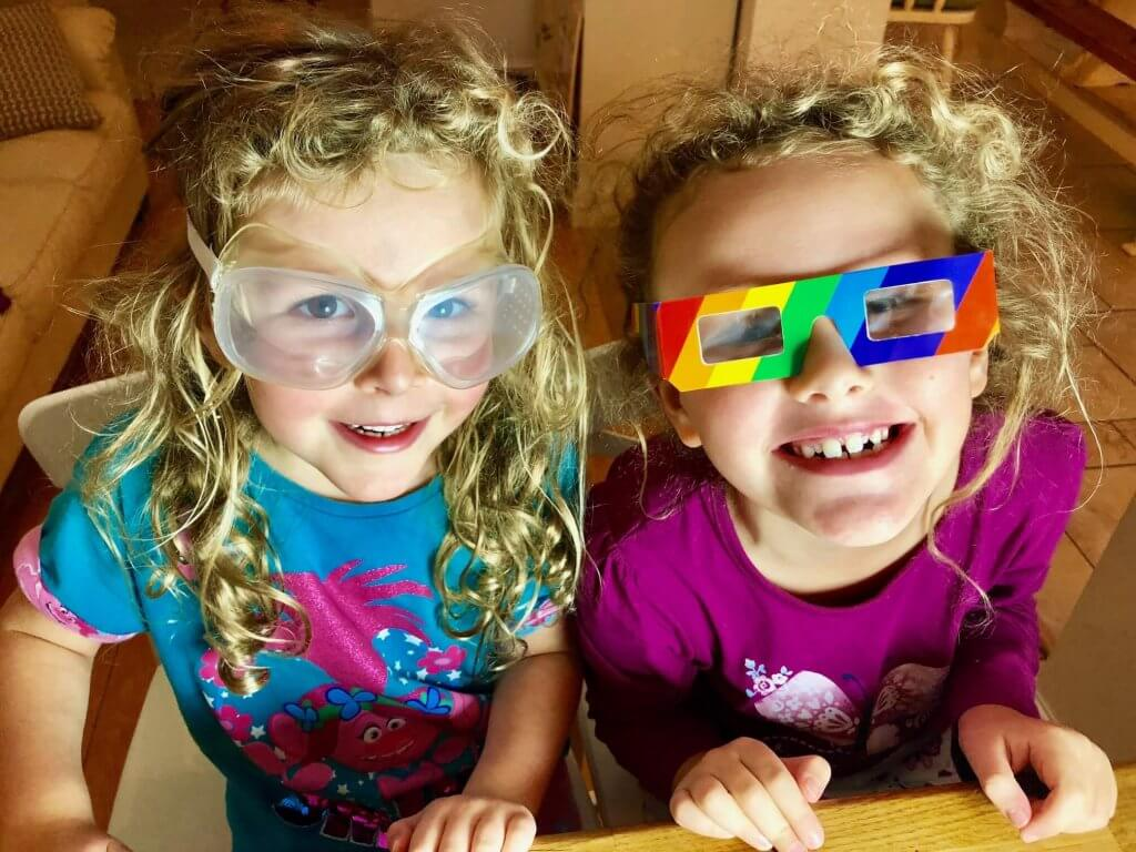 Best STEM toys - Rainbow lab goggles