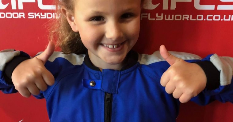 Before the iFly skydive excitement - Buy A Gift review