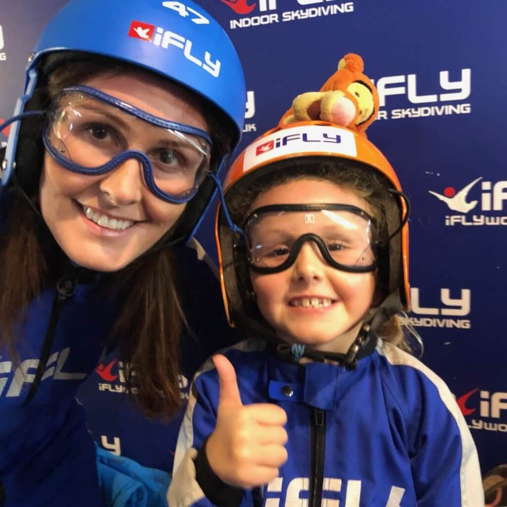 All ready for our iFly skydive - Buy A Gift Review