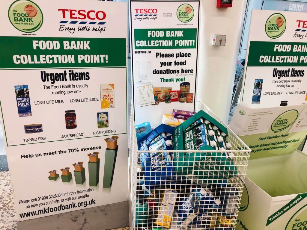 #FoodBankAdvent - most needed items for MK Foodbank