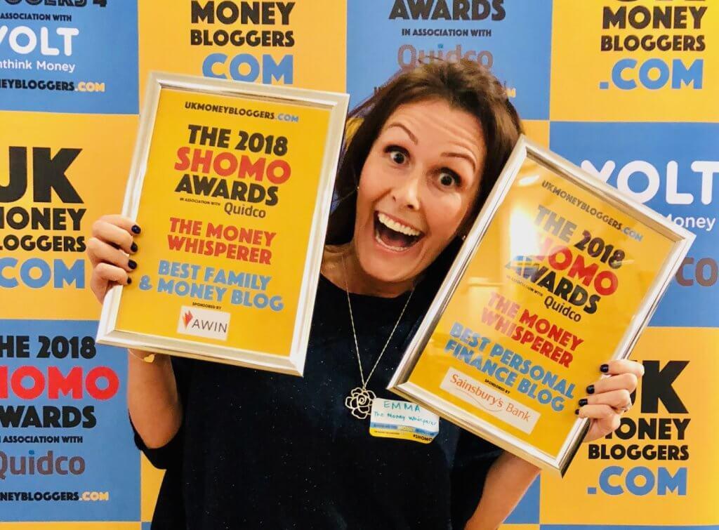 The Money Whisperer wins Personal Finance awards