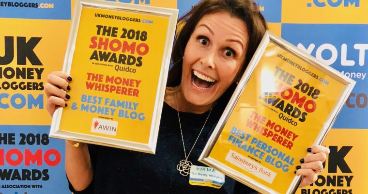 The Money Whisperer wins Personal Finance awards