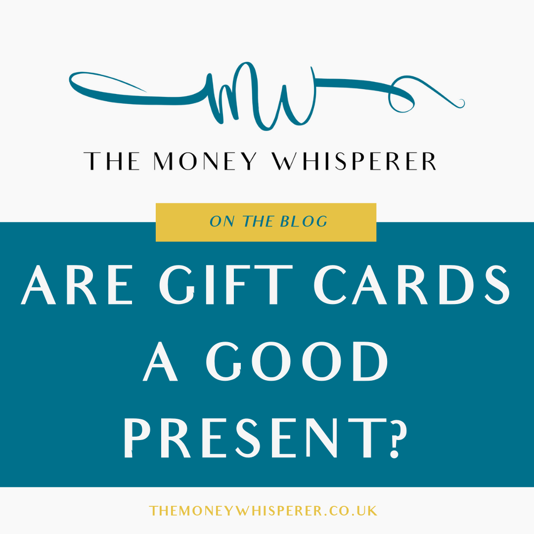 gift cards as a present