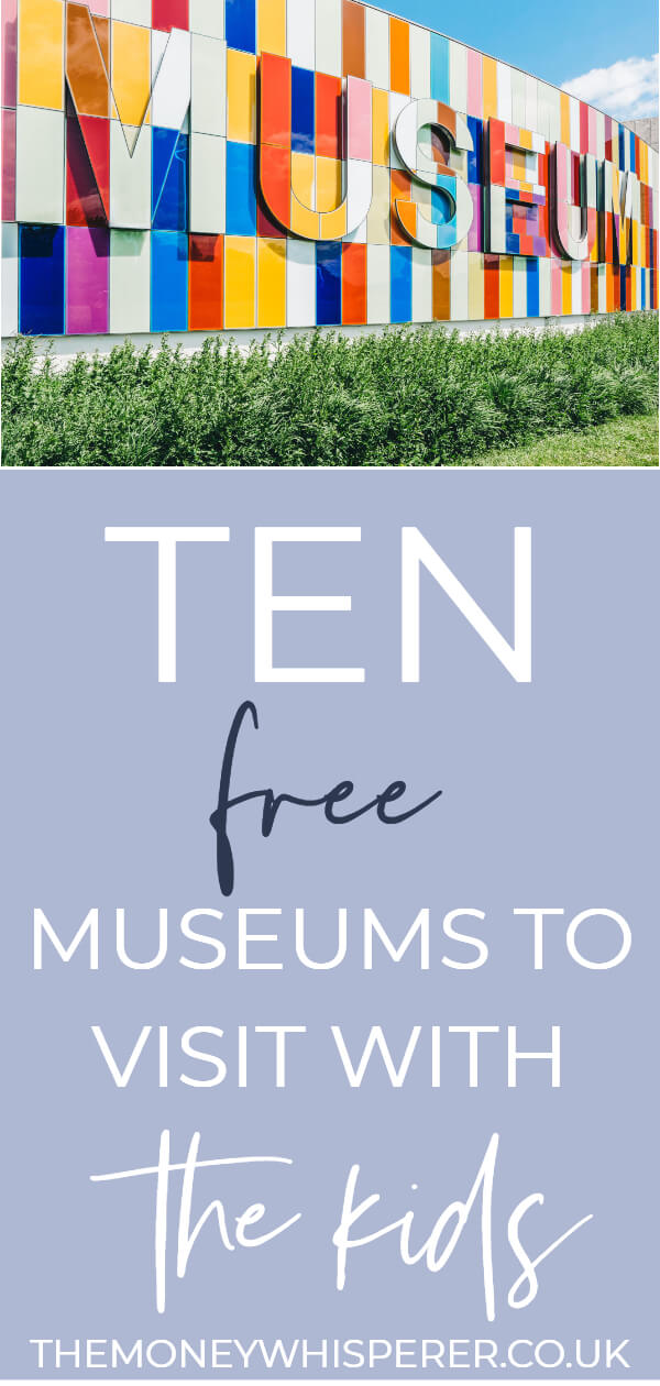 10 free museums to visit in school holdays