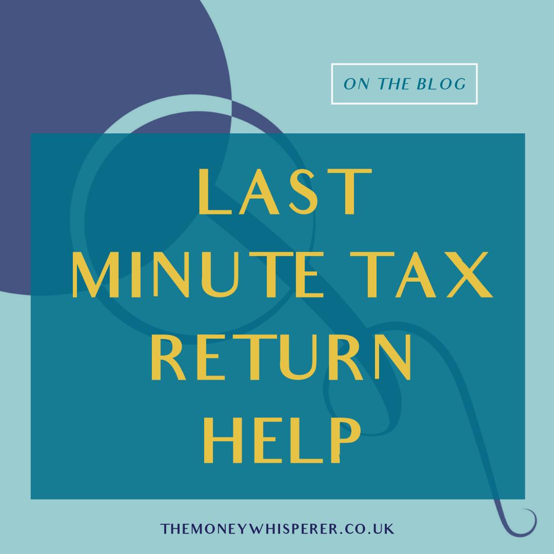 Last Minute Tax Return Help