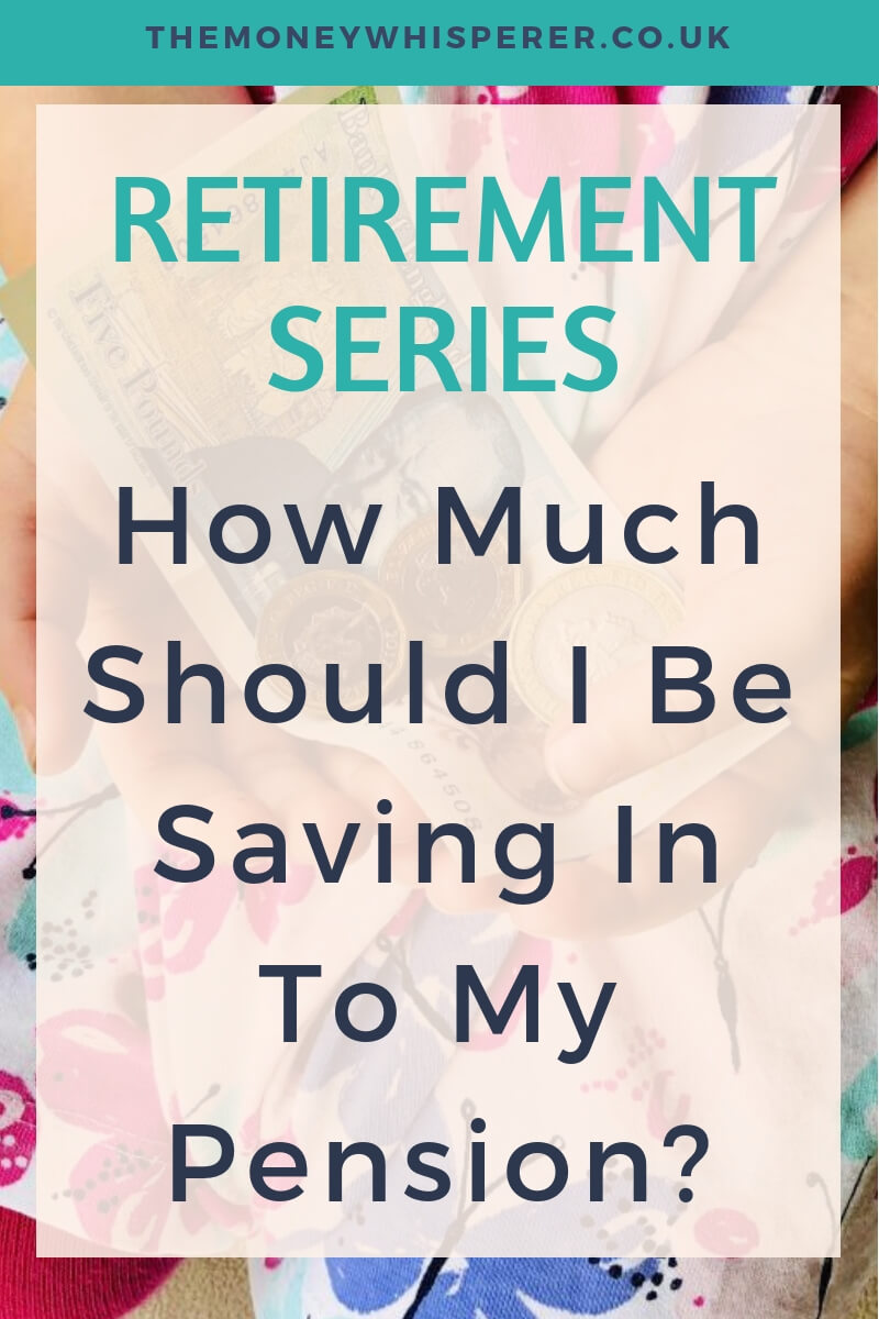 How much should I be saving in to my pension? What is a good size pension pot? How much income will I need in retirement to maintain a comfortable life? All questions answered in the first part of my mini series on retirement. #pension #retirement #futureplanning #retirementplanning #personalfinance #saving #investing