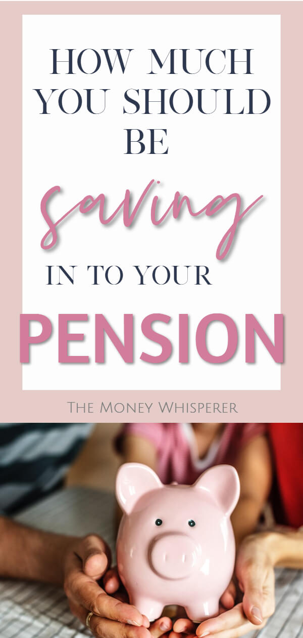 How much should you be saving in to your pension? #pension #retirement #financialplanning #personalfinance #moneysaving #save #moneyblogger