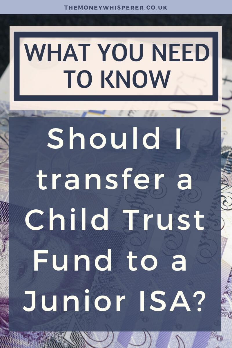 Should I Transfer A Child Trust Fund To A Junior ISA? #financialplanning #trustfund #childtrustfund #ctf #jisa #savingsaccount #moneymatters #financialeducation