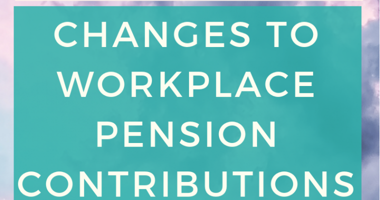 Changes to workplace contributions - how do they affect me? Find out what the move from 5% to 8% minimum contributions means for you and why you should think seriously about your future. #pension #retirement #financialplanning #futureprooffinances #money #savings #longtermgoals #moneyblogger