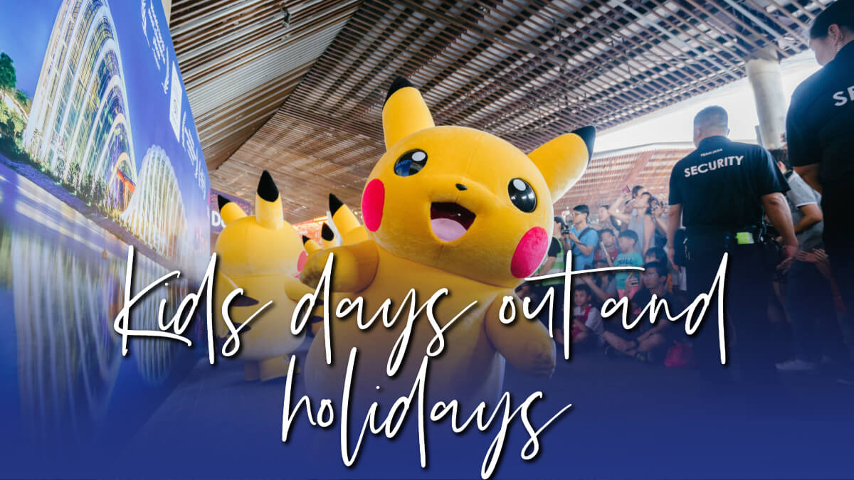 kids days out and holidays - savings