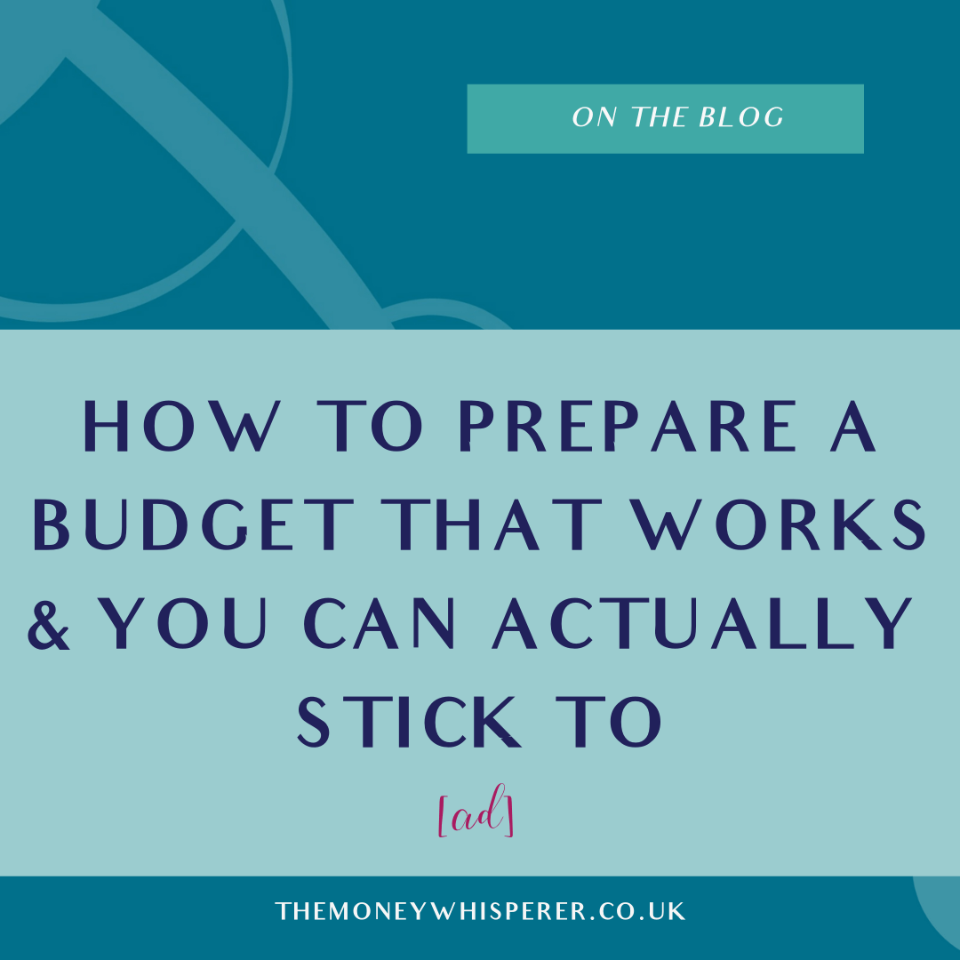 prepare a budget that works