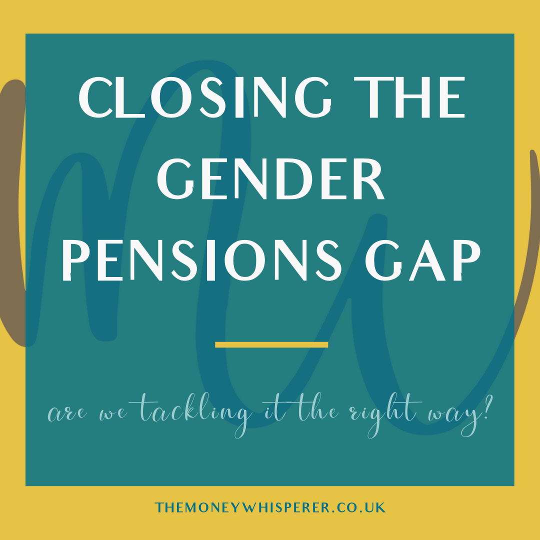 closing the gender pensions gap
