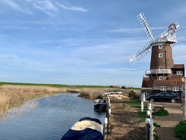 widnmill at Cley