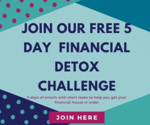 financial detox challenge